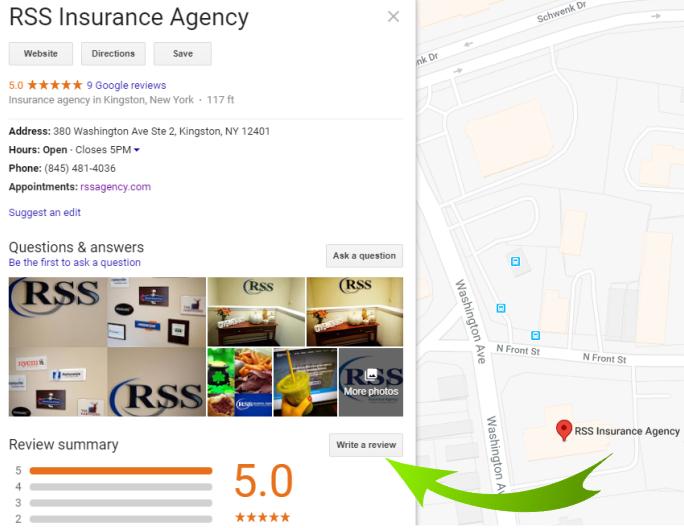 review-insurance-google-kingston