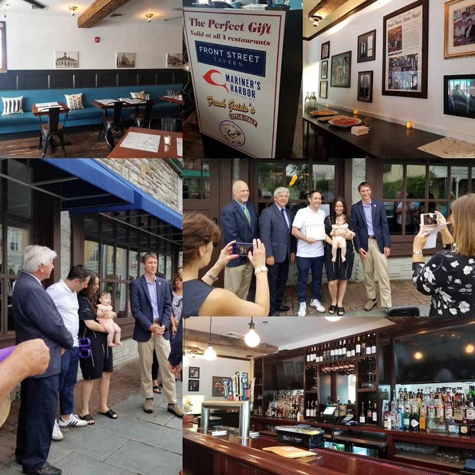 Front Street Tavern Ribbon Cutting