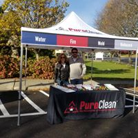 Thank you Miriam & Alex from Puroclean!