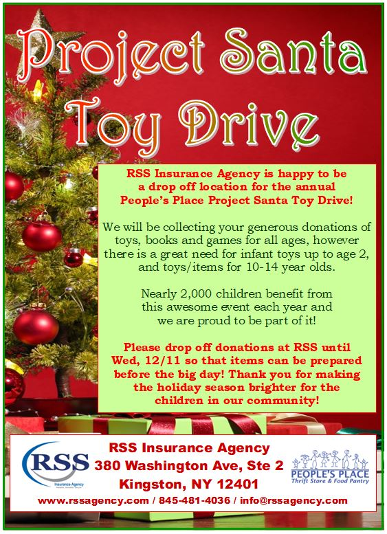Project Santa Toy Drive 2019